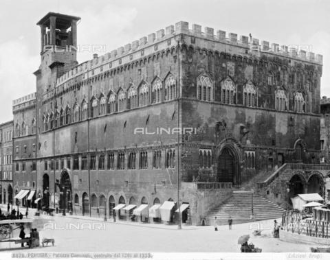 BGA-F-008879-0000 - Palazzo dei Priori or Palazzo del Comune (City Hall), Perugia, Umbria