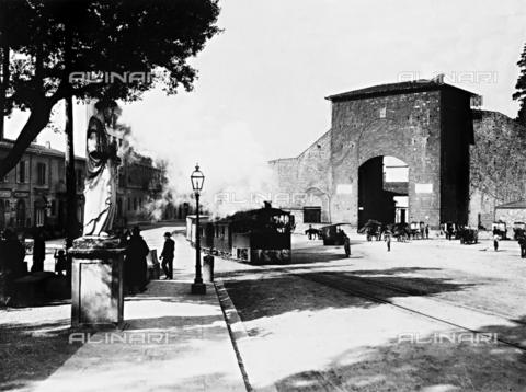 BGA-F-009538-0000 - The Porta Romana, Florence