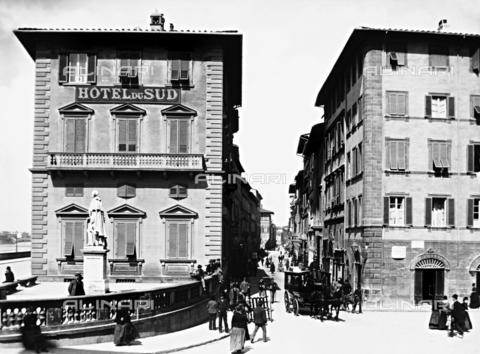 BGA-F-009563-0000 - Piazza Goldoni, Hotel du Sud, Florence