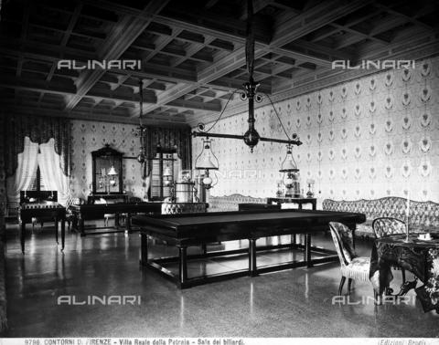 BGA-F-009796-0000 - Billiard Room in the Petraia Medici Villa.