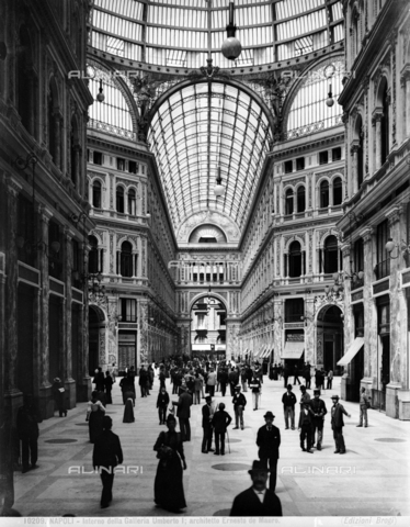 BGA-F-010209-0000 - Umberto I Gallery, Naples