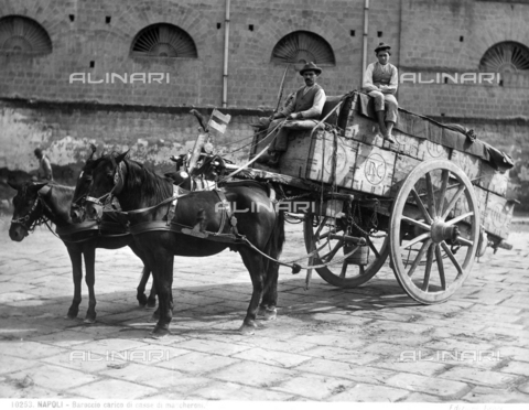 BGA-F-010253-0000 - A cart and carters in Naples