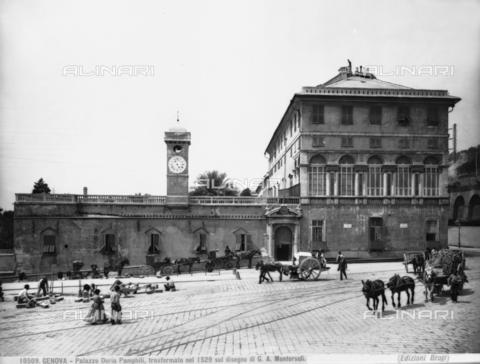 BGA-F-010509-0000 - Palazzo Doria Pamphilj, Piazza del Principe, Genoa