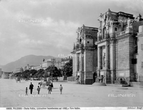 BGA-F-010850-0000 - Porta Felice, Palermo