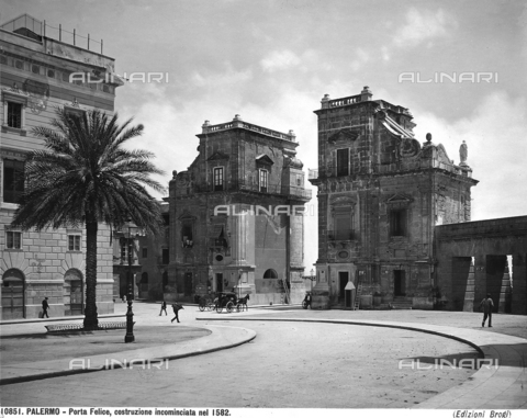 BGA-F-010851-0000 - Porta Felice, Palermo
