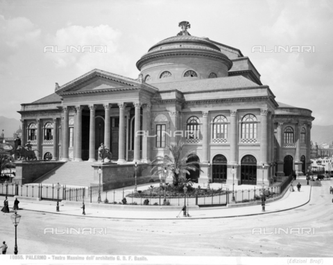 BGA-F-010855-0000 - The Massimo Theater in Palermo - Date of photography: 1900 ca. - Alinari Archives-Brogi Archive, Florence