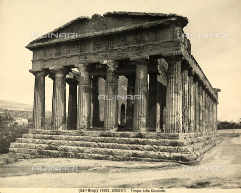 BGA-F-010922-0000 - Temple of Concord, Valley of the Temples, Agrigento