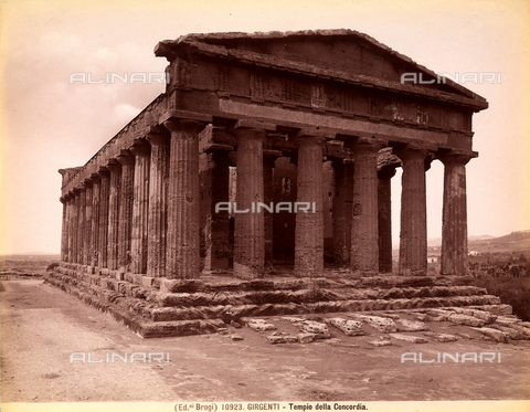 BGA-F-010923-0000 - Temple of Concord, Valley of the Temples, Agrigento