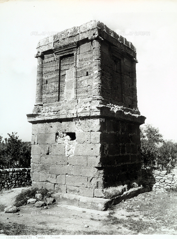 BGA-F-010929-0000 - Theron's Tomb, Valley of the Temples, Agrigento