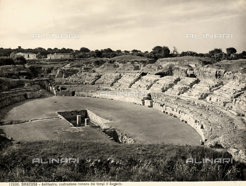 BGA-F-012006-0000 - Roman amphitheater, Syracuse
