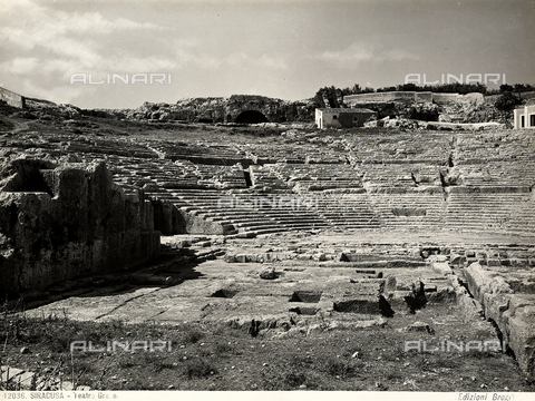 BGA-F-012036-0000 - Greek Theater, Neapolis Archaeological Park, Syracuse