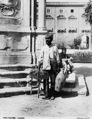 BGA-F-012069-0000 - Water vendor of Palermo