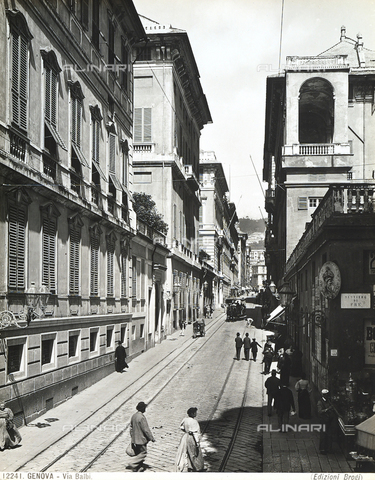 BGA-F-012241-0000 - Balbi Street in Genoa