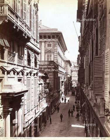 BGA-F-012242-0000 - Garibaldi Street in Genoa.