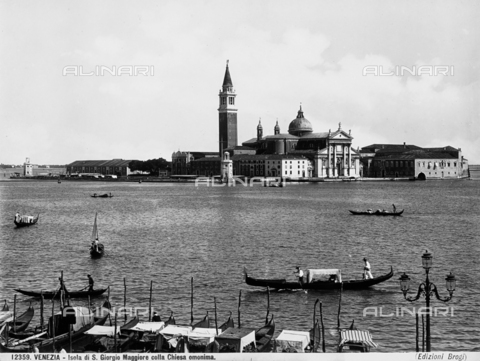 BGA-F-012359-0000 - View of San Giorgio Maggiore Island with the church of the same name, in Venice.