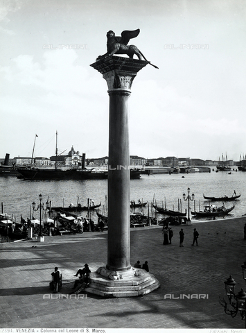 BGA-F-012394-0000 - St. Mark's column, Piazzetta San Marco, Venice
