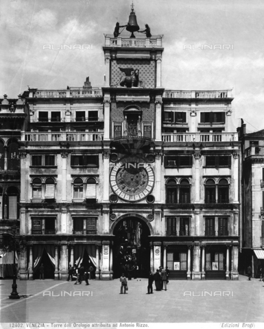 BGA-F-012402-0000 - Clock Tower, Piazza San Marco, Venice