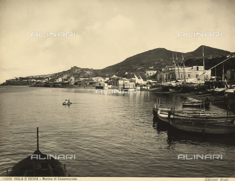 BGA-F-012590-0000 - View of Marina di Casamicciola on the island of Ischia.