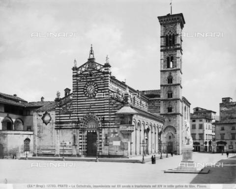 BGA-F-012703-0000 - Faà§ade, Cathedral, Prato