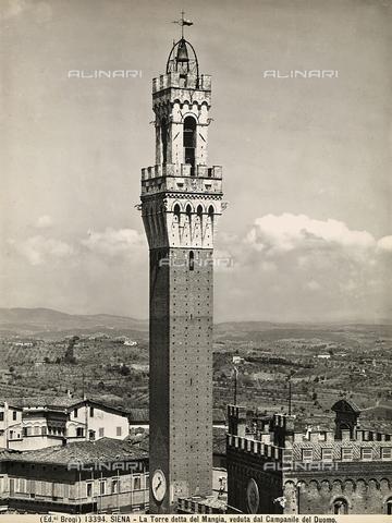 BGA-F-013394-0000 - Torre del Mangia (Mangia Tower), Piazza del Campo, Siena