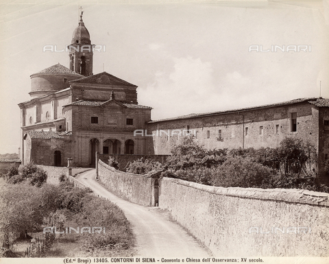 BGA-F-013405-0000 - Church of the Osservanza, environs of Siena