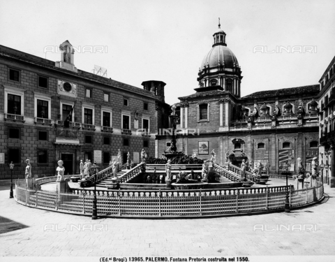 BGA-F-013965-0000 - Pretoria Fountain, Francesco Camilliani, Piazza Pretoria, Palermo