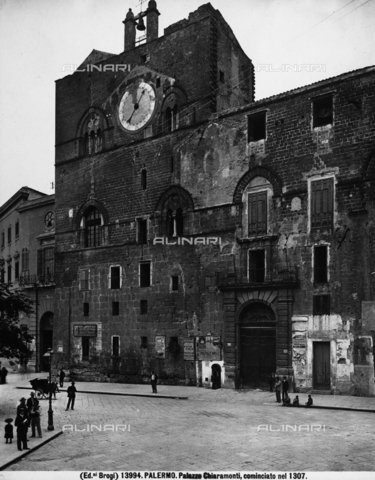 BGA-F-013994-0000 - Palazzo Chiaramonti, or Palazzo Steri, Palermo