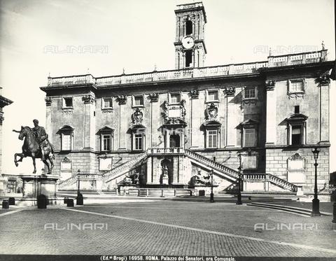 BGA-F-016958-0000 - Palazzo Senatorio, Piazza del Campdoglio, Rome