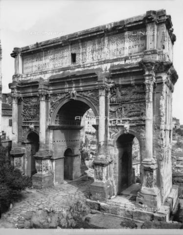 BGA-F-018560-0000 - Arch of Septimius Severus, Roman Forum, Rome