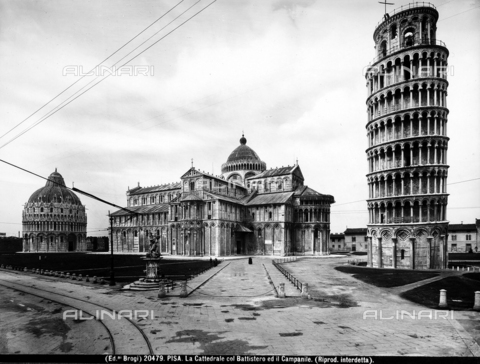 BGA-F-020479-0000 - Bell tower of the Cathedral (Leaning Tower), Pisa