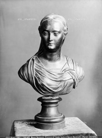 BGA-F-020811-0000 - Busto di Eleonora di Toledo, opera di Baccio Bandinelli, Museo Nazionale del Bargello, Firenze - Data dello scatto: 1915-1920 ca. - Archivi Alinari-archivio Brogi, Firenze