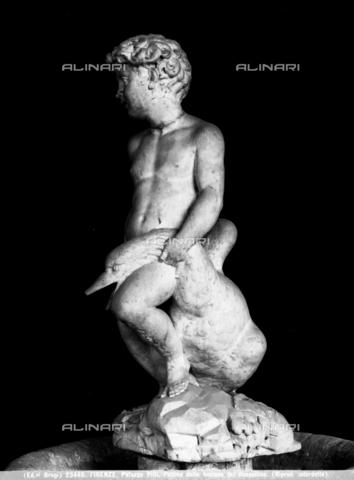 BGA-F-023449-0000 - Putto della fontana di Antonio  Rossellino, Palazzo Pitti, Firenze - Data dello scatto: 1920-1930 ca. - Archivi Alinari-archivio Brogi, Firenze