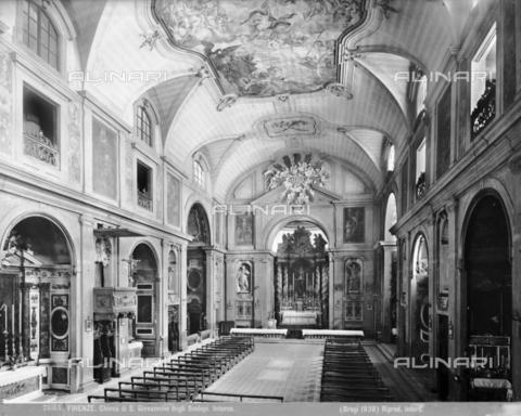 BGA-F-026165-0000 - Interior of the church of San Giovannino degli Scolopi in via Martelli at the corner with via Gori in Florence - Date of photography: 1938 - Alinari Archives-Brogi Archive, Florence