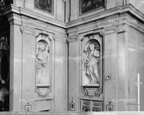 BGA-F-026167-0000 - Interior of the church of San Giovannino degli Scolopi in via Martelli at the corner with via Gori in Florence - Date of photography: 1938 - Alinari Archives-Brogi Archive, Florence