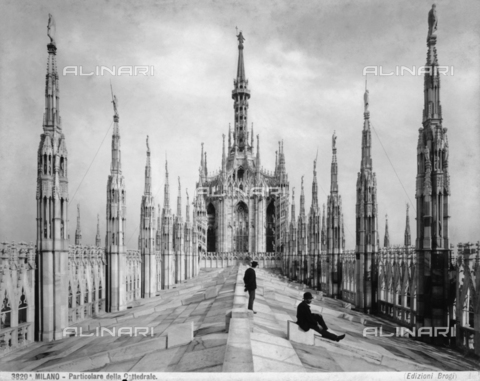 BGA-F-03820A-0000 - Base of the cupola, Cathedral, Milan