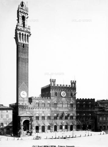 BGA-F-08854A-0000 - Palazzo Pubblico (Council Hall), Piazza del Campo, Siena