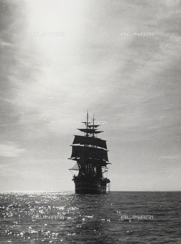 "BMD-A-000001-0008 - The Royal Training Ship ""Amerigo Vespucci"""