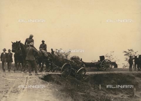 BMD-F-001663-0000 - Prima Guerra Mondiale: la battaglia del Piave - Data dello scatto: 1918 - Raccolte Museali Fratelli Alinari (RMFA)-donazione Miniati, Firenze