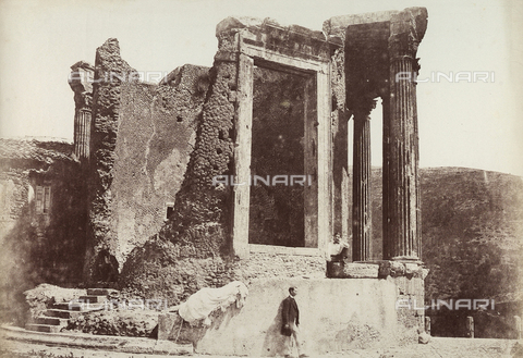 BPC-F-000929-0000 - Temple of Sibyl in Tivoli - Data dello scatto: 1853 ca. - Archivi Alinari, Firenze