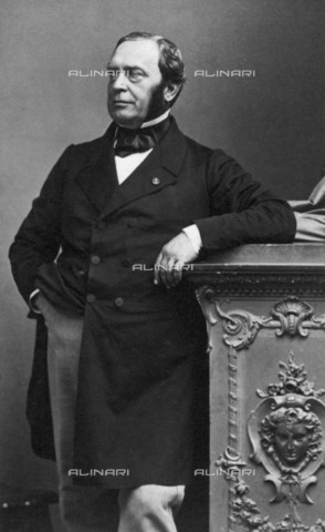 BPK-S-AA1001-4049 - French politician Théodore Adolphe Barrot - Data dello scatto: 1865 - André Adolphe Eugène Disderi / BPK/Alinari Archives
