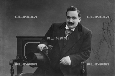 BPK-S-AA5014-0747 - The italian opera singer Enrico Caruso (1873-1921) - Kunstbibliothek, SMB, Photothek Willy Rà¶mer / BPK/Alinari Archives