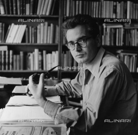 BPK-S-AA7000-3277 - The Russian composer Dmitri Dmitrijewitsch Schostakowitsch (1906-1975) - Data dello scatto: 1960 ca. - Wilhelm Pabst / BPK/Alinari Archives