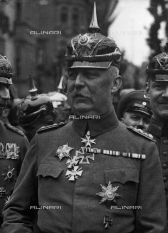 BPK-S-AA7014-0853 - Il generale tedesco Erich Ludendorff (1865-1937) - Data dello scatto: 1900-1937 - BPK/Archivi Alinari