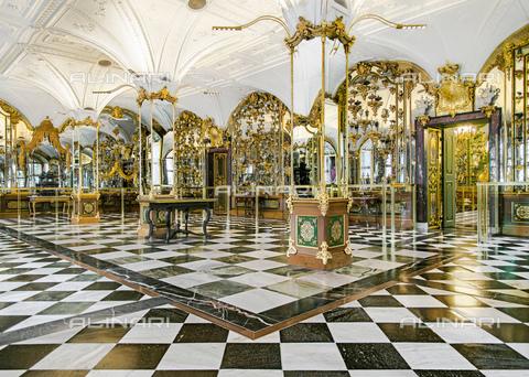 BPK-S-AA7014-2361 - Veduta della Volta Verde all'interno del Staatliche Kunstsammlungen di Dresda - Data dello scatto: 14/07/2015 - Hans Christian Krass / BPK/Archivi Alinari