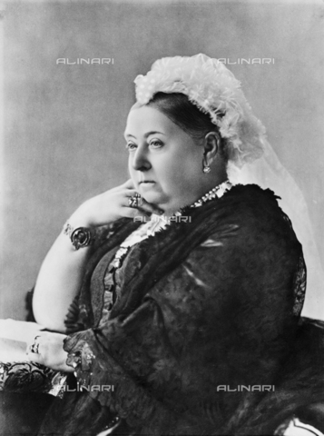 BRA-F-000440-0000 - Portrait of Her Majesty Queen Victoria of Hanover - Date of photography: 1894 ca. - Alinari Archives-Brogi Archive, Florence
