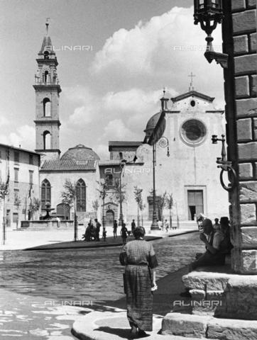 BVA-F-001644-0000 - Faà§ade, Santo Spirito Church, Florence