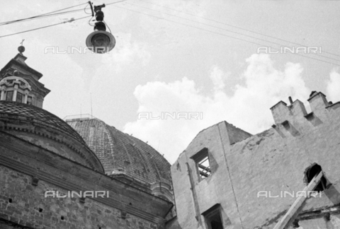 BVA-S-050014-0305 - Buildings near the Basilica of San Lorenzo in Florence before their demolition - Data dello scatto: 1938 - Archivi Alinari, Firenze