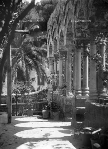 CAD-S-420005-0012 - Cloister of San Giovanni degli Eremiti, Palermo - Data dello scatto: 14/04/1928 - Archivi Alinari, Firenze