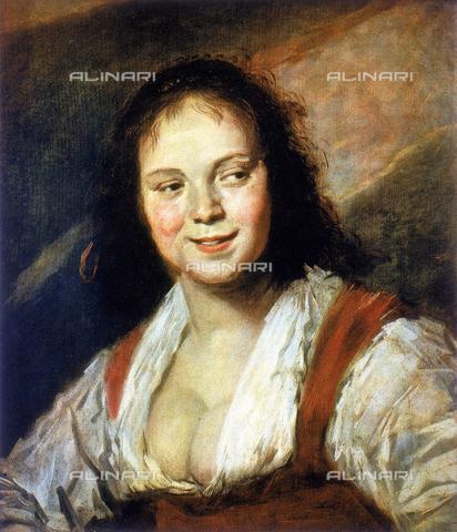 CAL-F-001634-0000 - La zingara di Frans Hals nel Museo del Louvre - Data dello scatto: 1991 - Archivi Alinari, Firenze