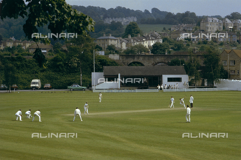 CAL-F-006988-0000 - Scorcio di un campo sportivo adibito al gioco del cricket